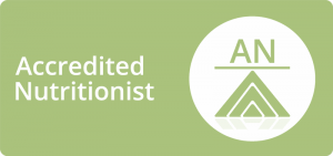 Accredited Nutritionist logo